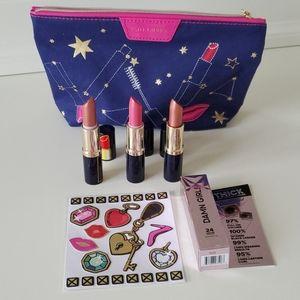 Makeup bundle Estell Launder 3 lipsticks mascara